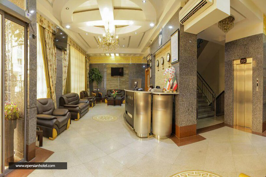 هتل آپارتمان ایوان مشهد لابی