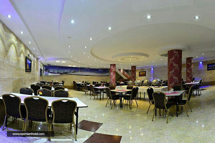 هتل آدینه مشهد رستوران