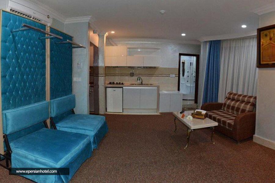 آپارتمان قصر آیدین مشهد اتاق