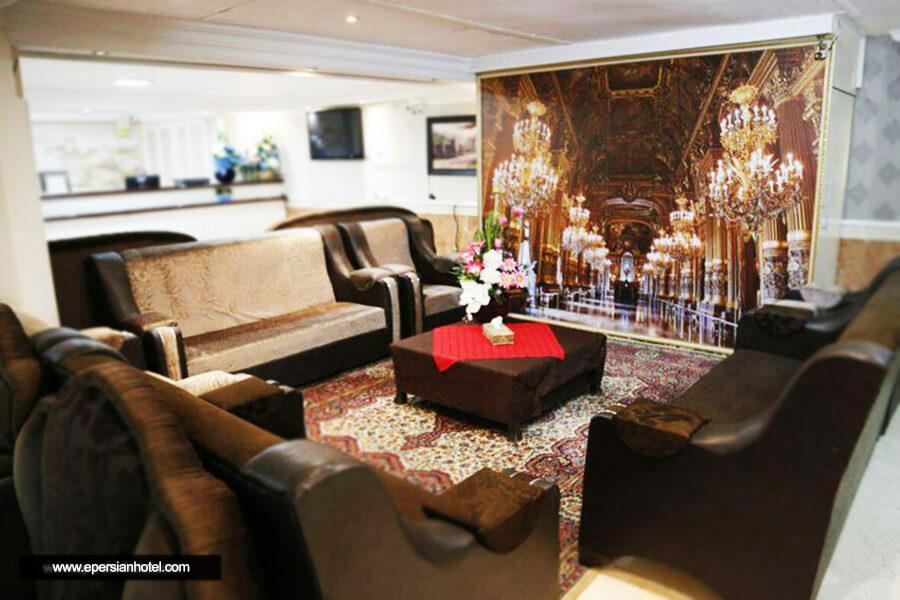 هتل آپارتمان البرز مشهد لابی