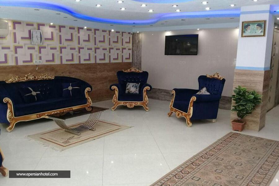 هتل آپارتمان آنا مشهد لابی