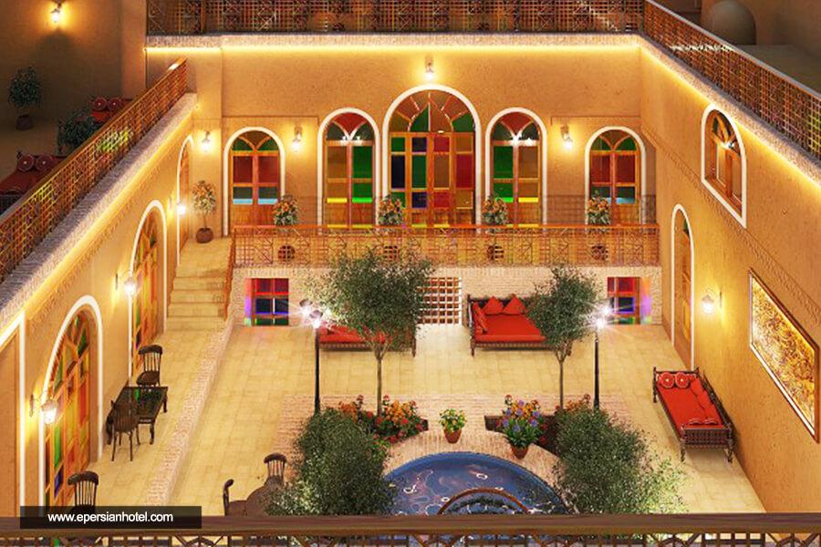 هتل عندلیبان یزد نما