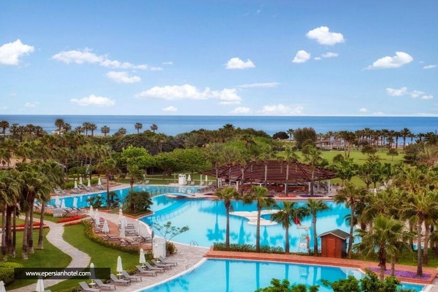 هتل باروت لارا آنتالیا استخر