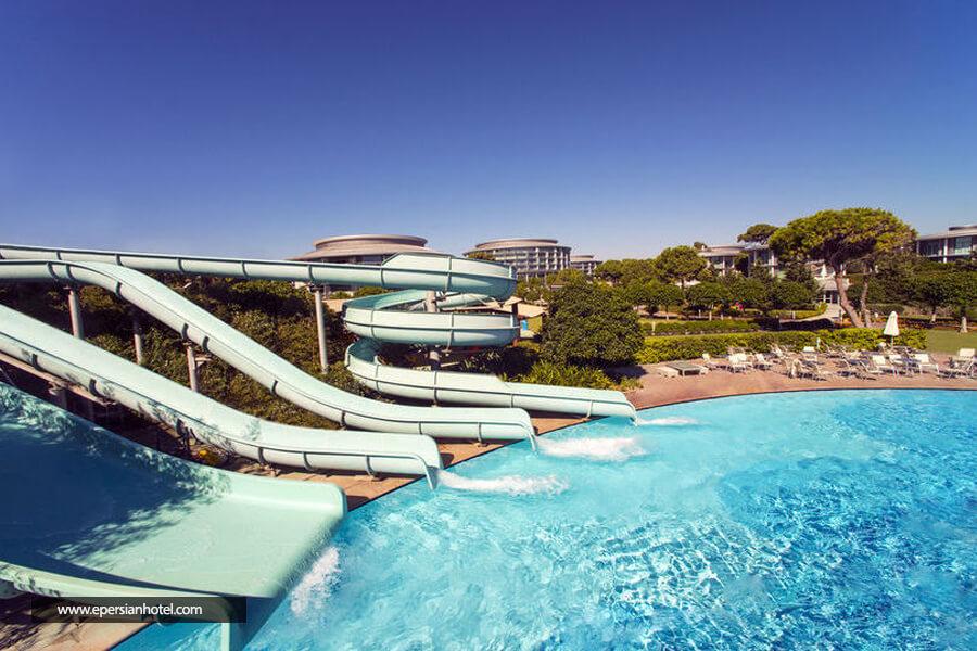 هتل کالیستا لاکچری ریزورت آنتالیا استخر