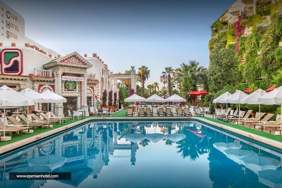 هتل کلاب سرا آنتالیا استخر