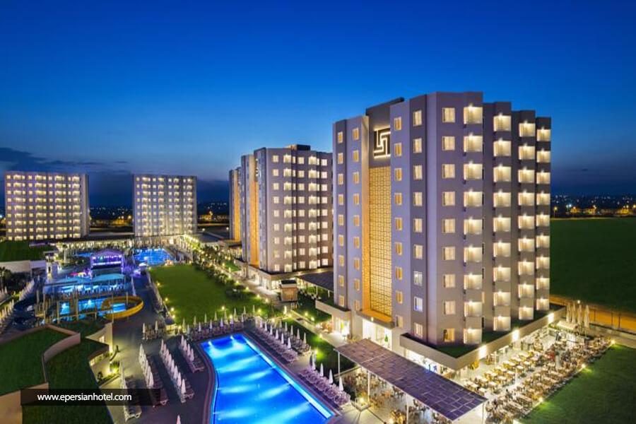 هتل گرند پارک لارا آنتالیا نما