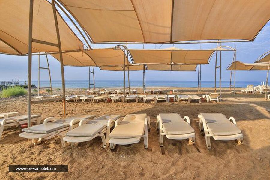 هتل هدف بیچ ریزورت آنتالیا استراحتگاه ساحلی