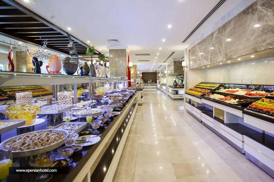 هتل کارمیر ریزورت آنتالیا رستوران