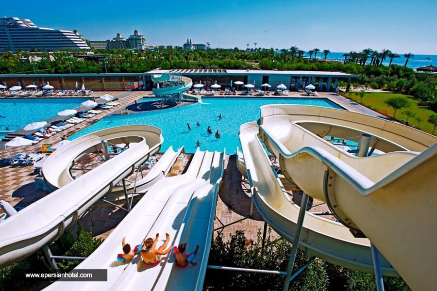 هتل کروانسرای لارا آنتالیا استخر