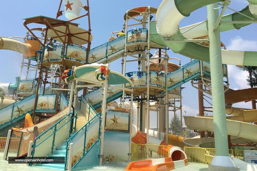 هتل مکس رویال بلک آنتالیا استخر
