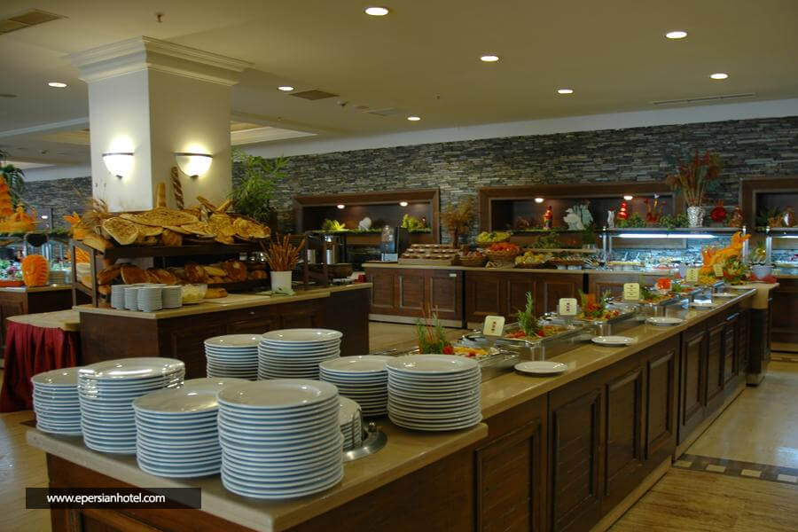 هتل مدر ریزورت آنتالیا رستوران