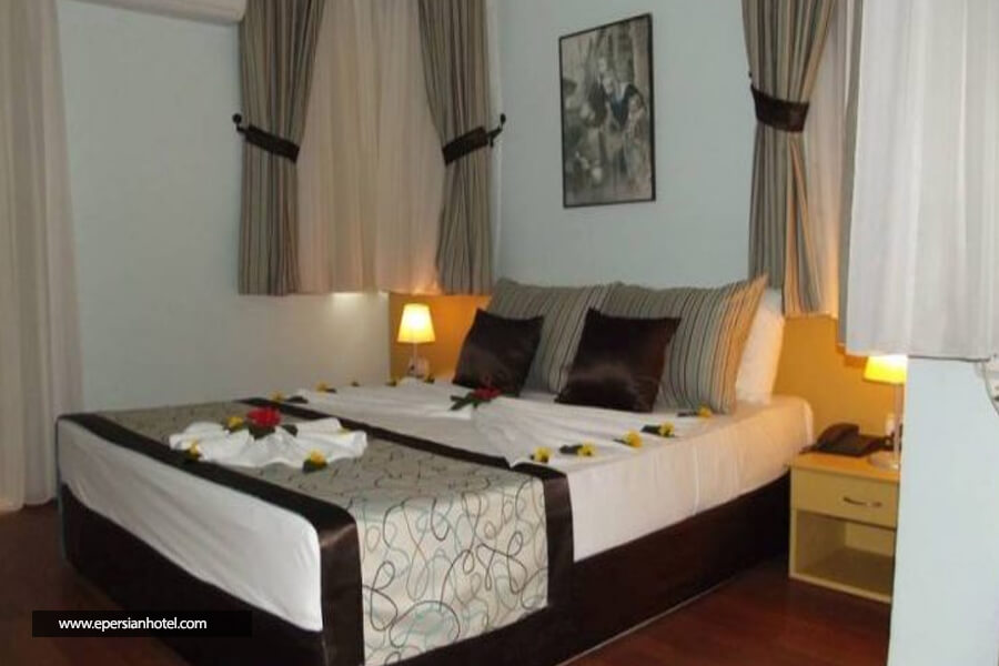 هتل ریوس بیچ آنتالیا اتاق دو تخته