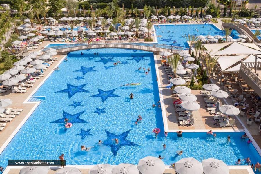 هتل رویال سگینوس آنتالیا استخر