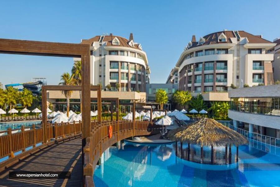هتل شروود اکسکلوسیو لارا آنتالیا استخر