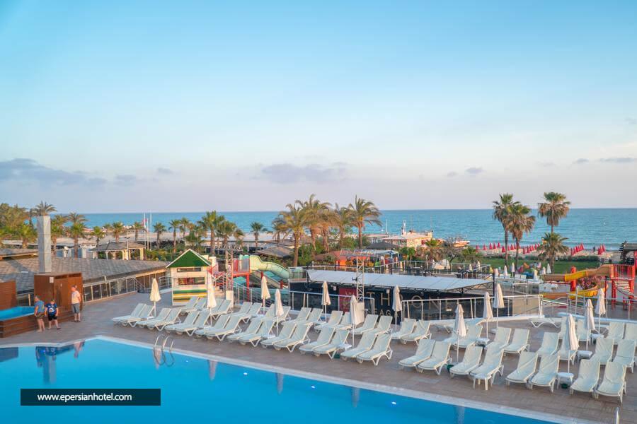 هتل درون سیگیت بلک آنتالیا استخر