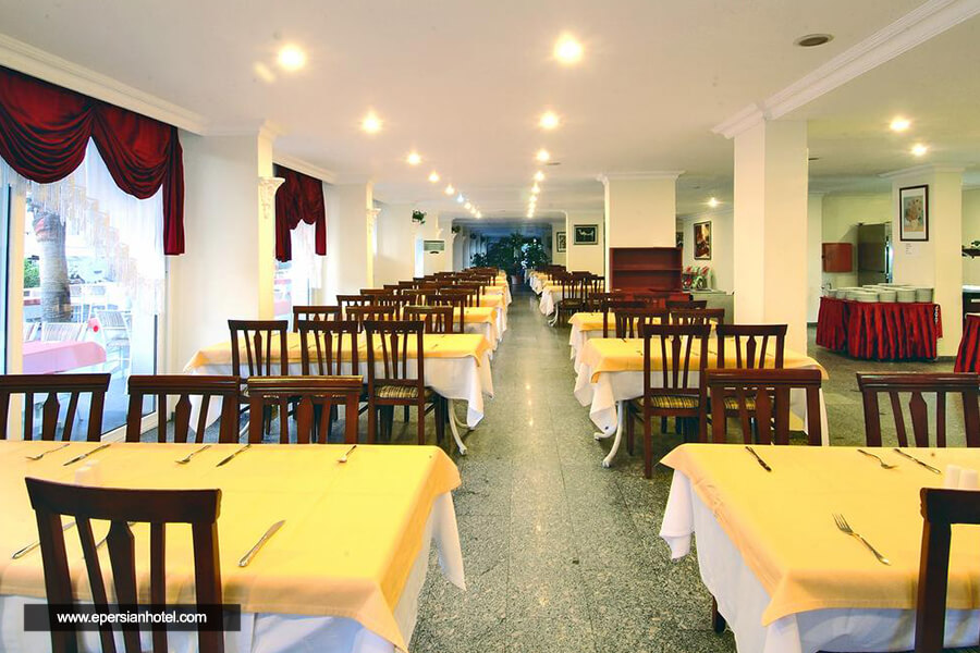 هتل هدف کلوپاترا گلدن سان آنتالیا رستوران