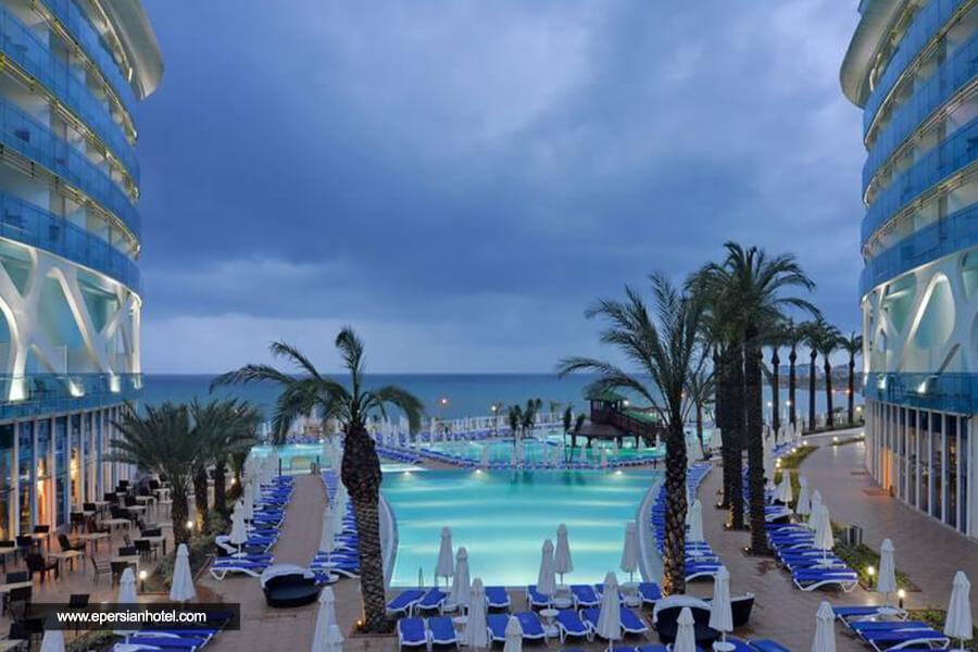هتل ویکینگن اینفینی تی ریزورت آنتالیا استخر