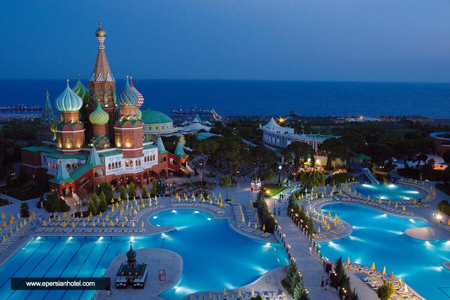 هتل ورلد او واندرز کرملین پلس آنتالیا نما