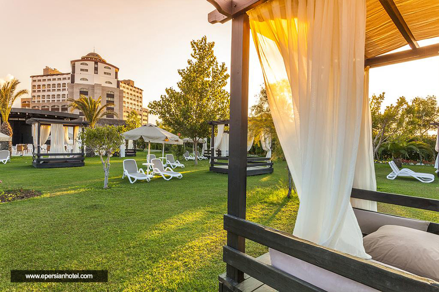 هتل ملاس لارا آنتالیا نما