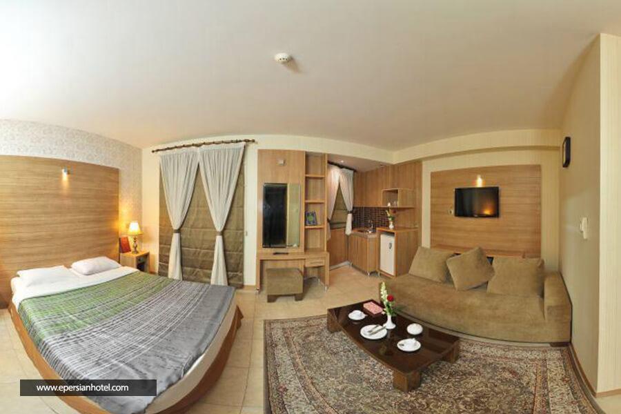 هتل آرامیس مشهد اتاق دو تخته دابل
