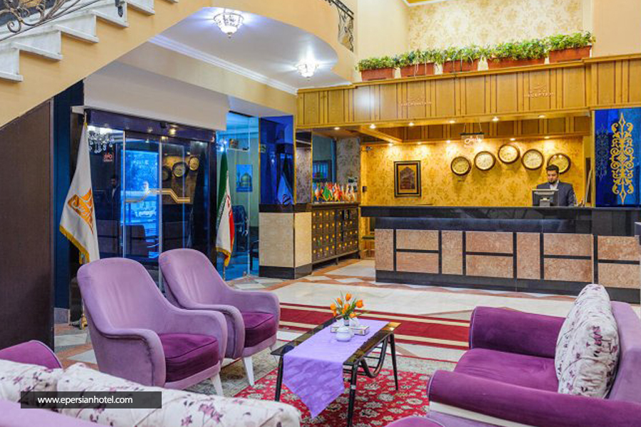 هتل ارس مشهد لابی