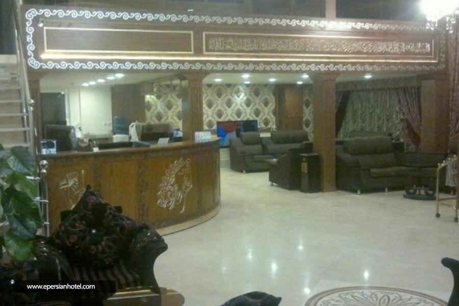 هتل آپارتمان عارفه مشهد لابی