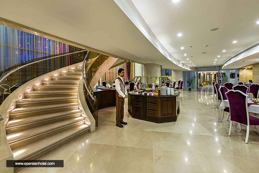 هتل آپارتمان آرمان مشهد رستوران