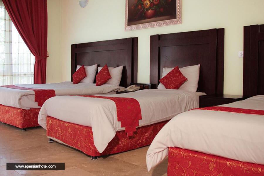 هتل لوتوس کیش اتاق چهارتخته
