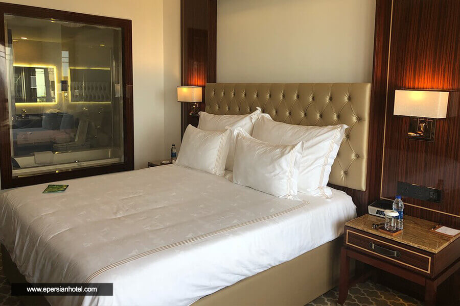 هتل داریوش کیش اتاق دوتخته