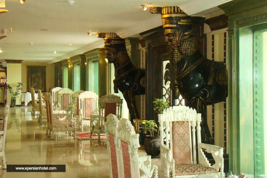 هتل داریوش کیش لابی
