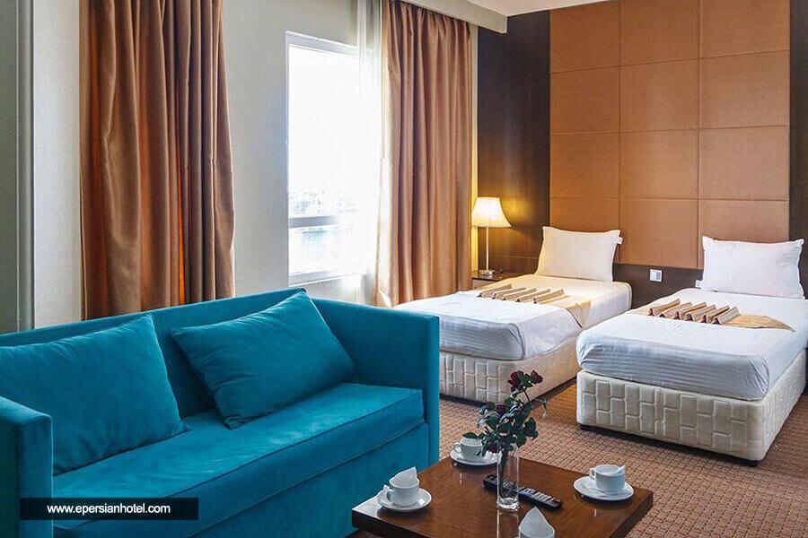 هتل ایران کیش اتاق دوتخته