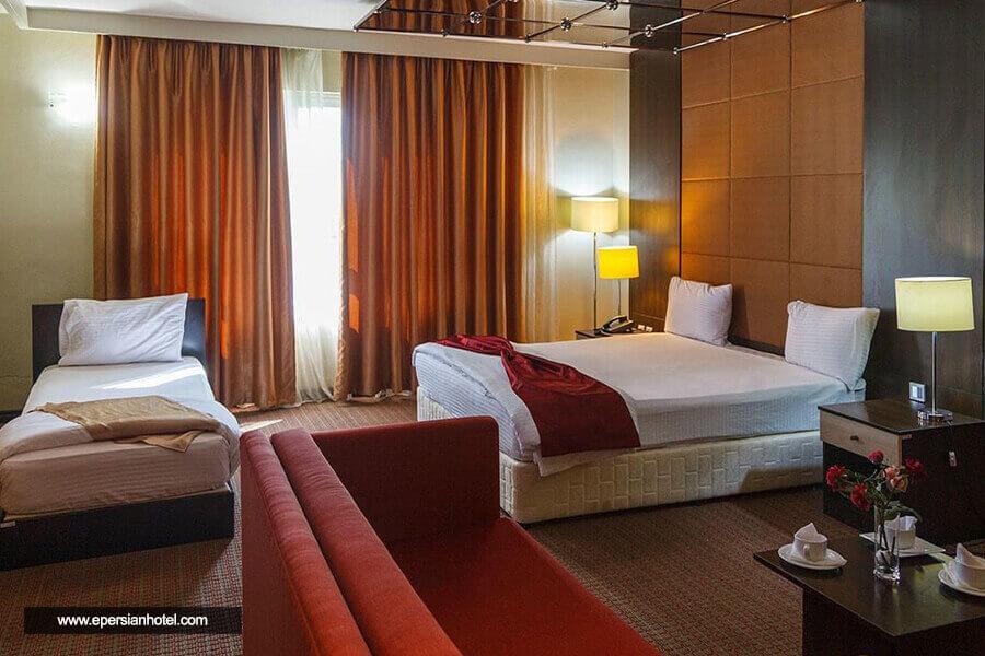 هتل ایران کیش اتاق سه تخته