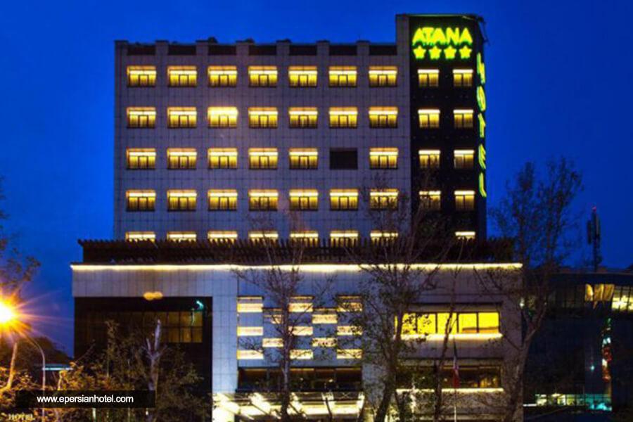 هتل آتانا تهران نما