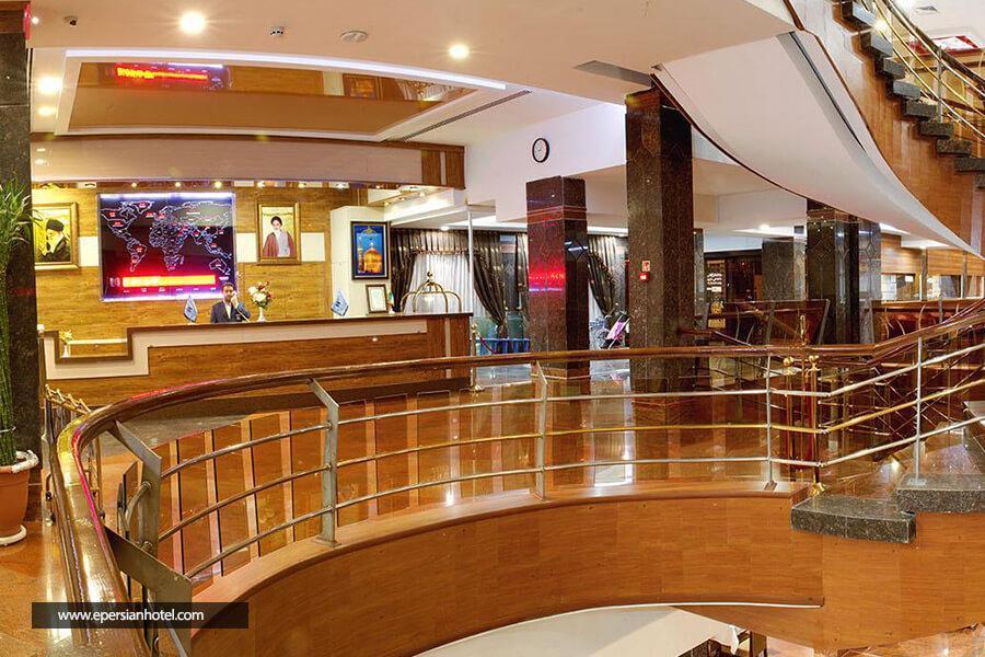 هتل آزادی مشهد فضای داخلی