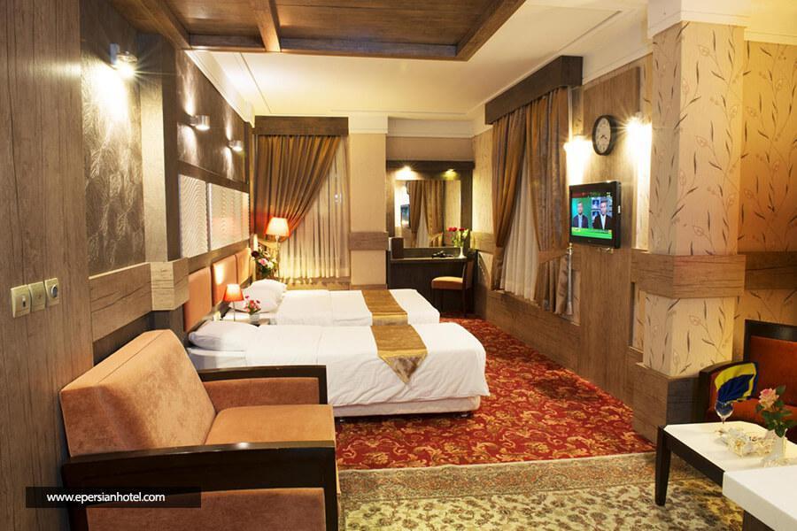 هتل آزادی مشهد اتاق سه تخته