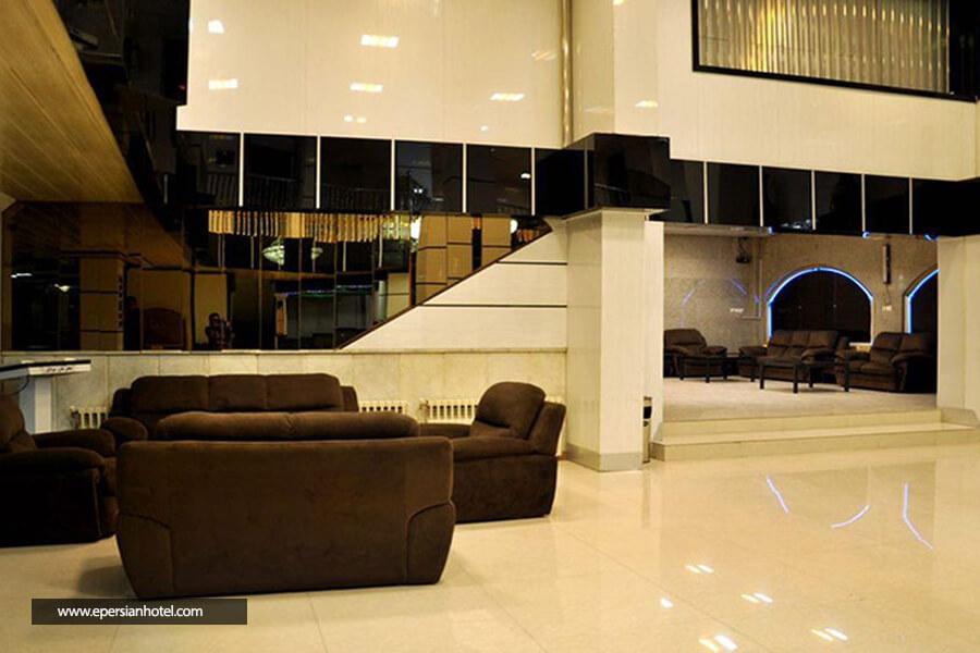 هتل آپارتمان آذر مشهد لابی
