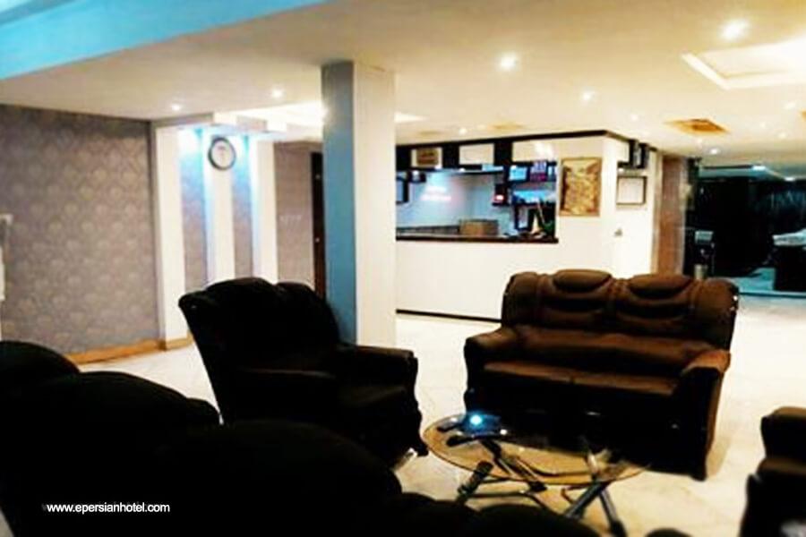 هتل آپارتمان یهاران مشهد لابی