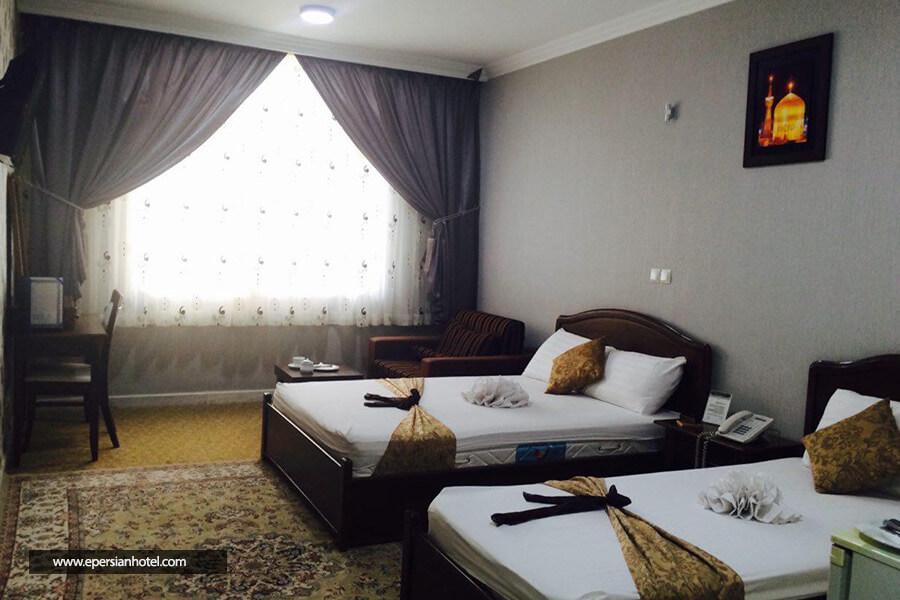 هتل باختر مشهد اتاق سه تخته