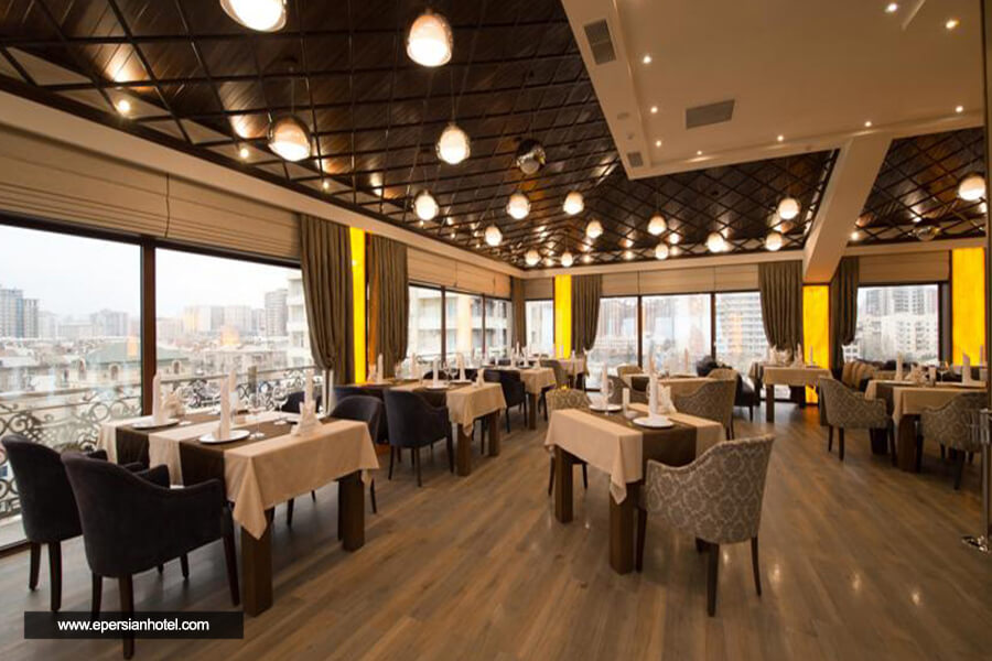 هتل بولوار ساید باکو رستوران
