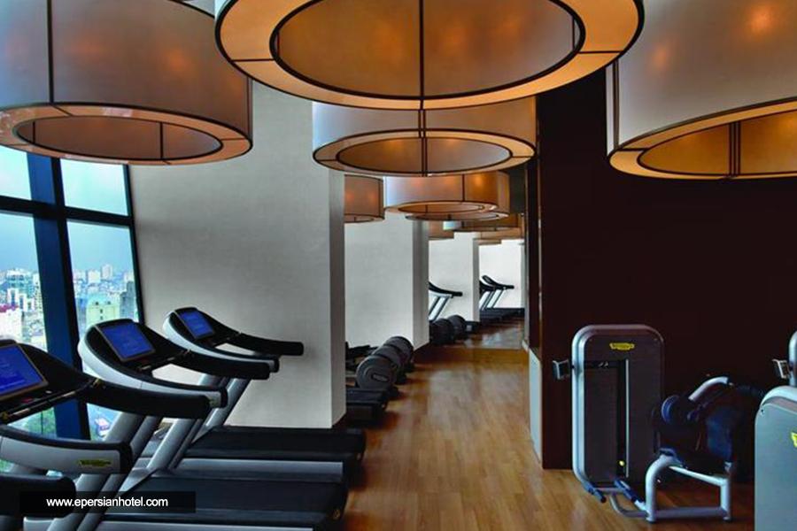 هتل فیرمونت فلیم تاورز باکو سالن ورزشی