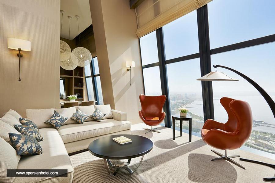 هتل فیرمونت فلیم تاورز باکو اتاق