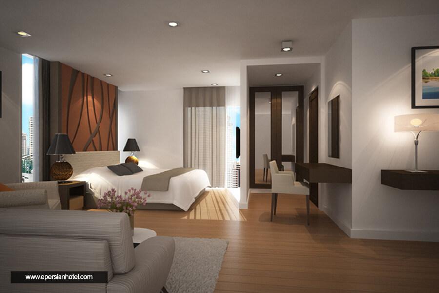 هتل اچ رزیدنس ساتورن بانکوک اتاق