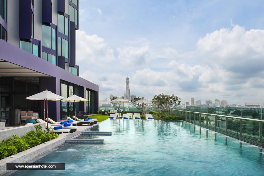 هتل مرکیور ماکاسان بانکوک استخر
