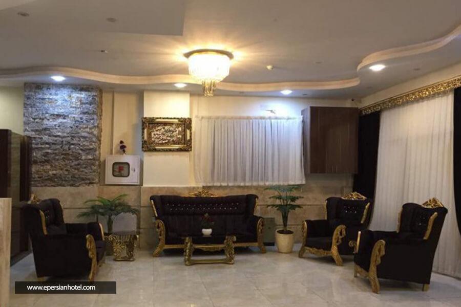 هتل آپارتمان برکات مشهد لابی