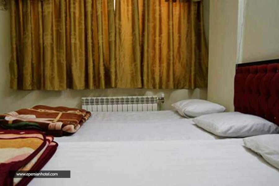 هتل آپارتمان برکات مشهد اتاق سه تخته
