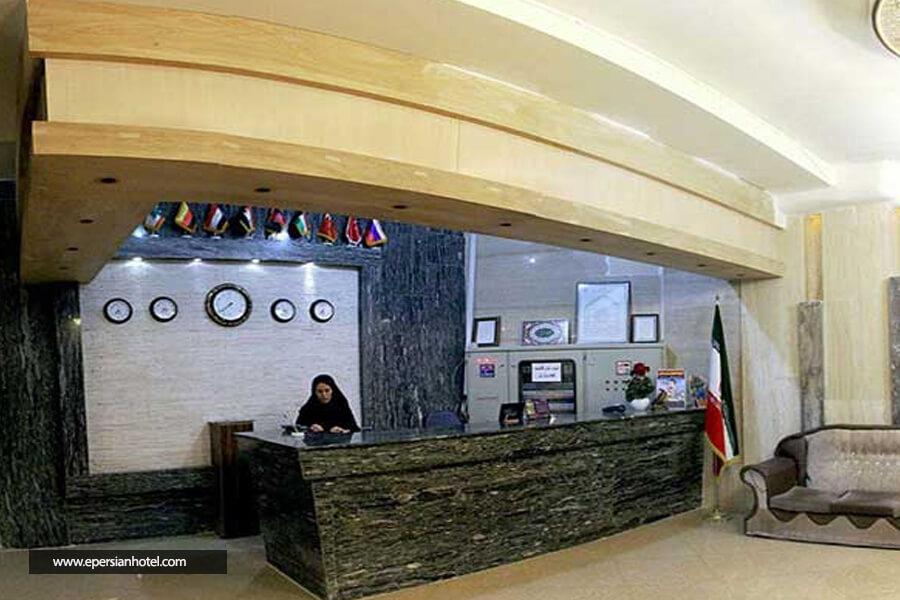 هتل آپارتمان بارانا پذیرش لابی