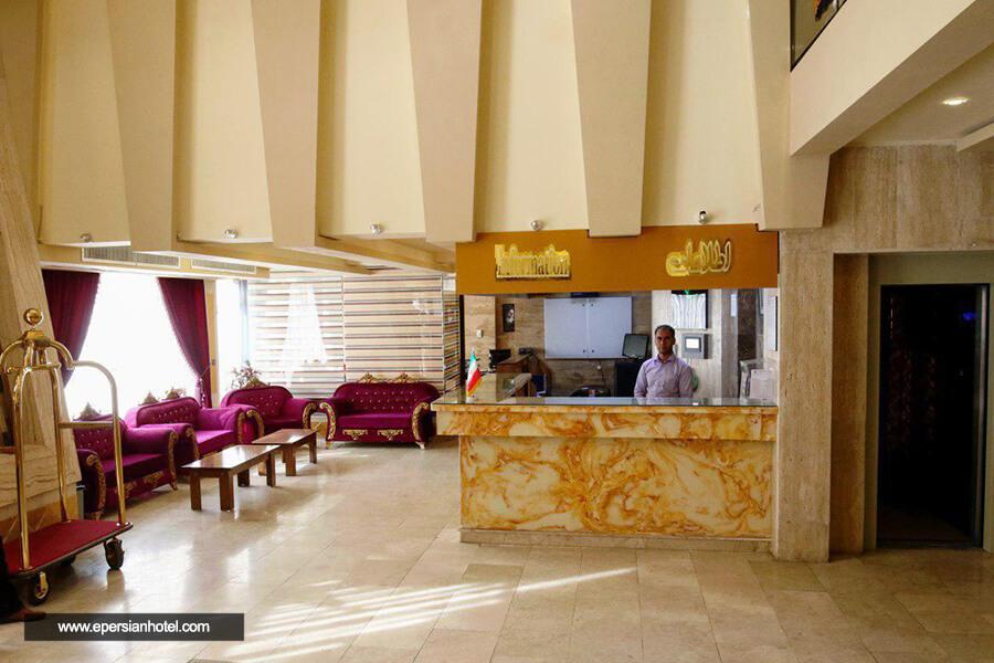هتل بسطامی مشهد پذیرش