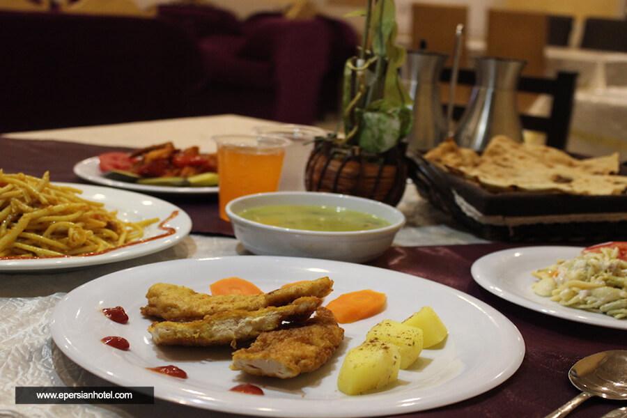 هتل بسطامی مشهد رستوران