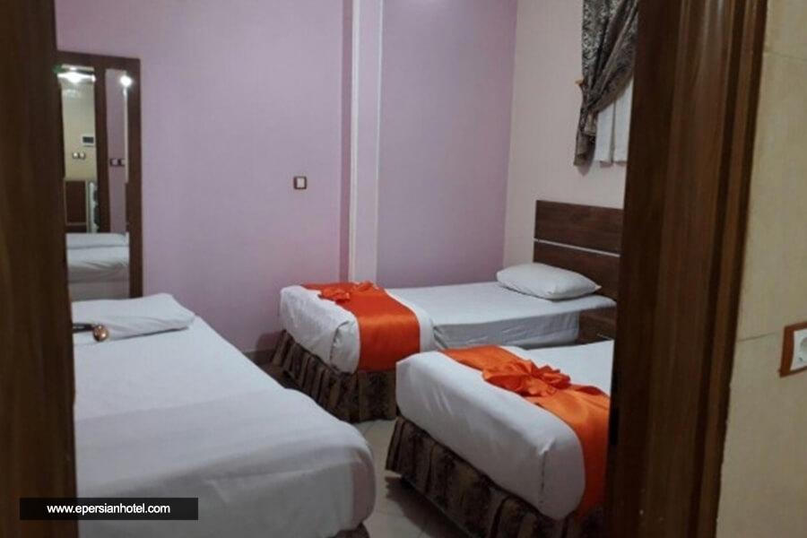 هتل برین مشهد اتاق چهار تخته