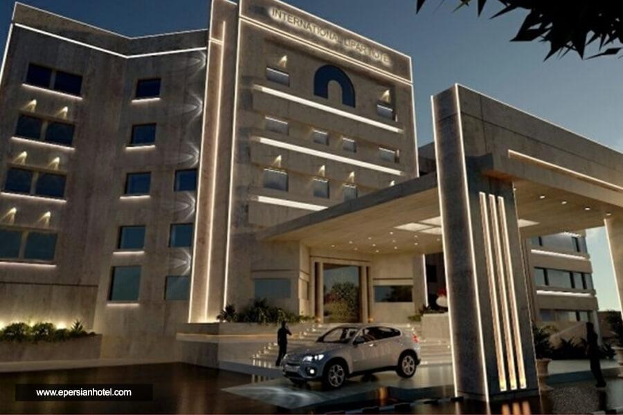 هتل لیپار چابهار نما